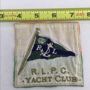 VTG POLO RALPH LAUREN SEW ON PATCH